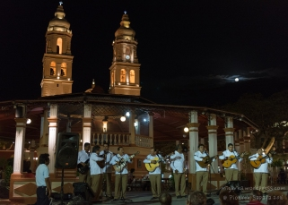 Mariachis at the main square